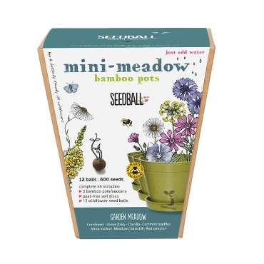 Mini Meadow Bamboo Pot