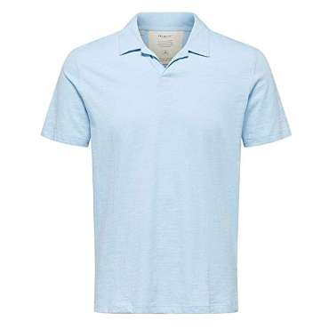 Selected Homme Classic Cashmere Blue Polo