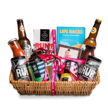 The Fire it Up BBQ Hamper for Fathers Day