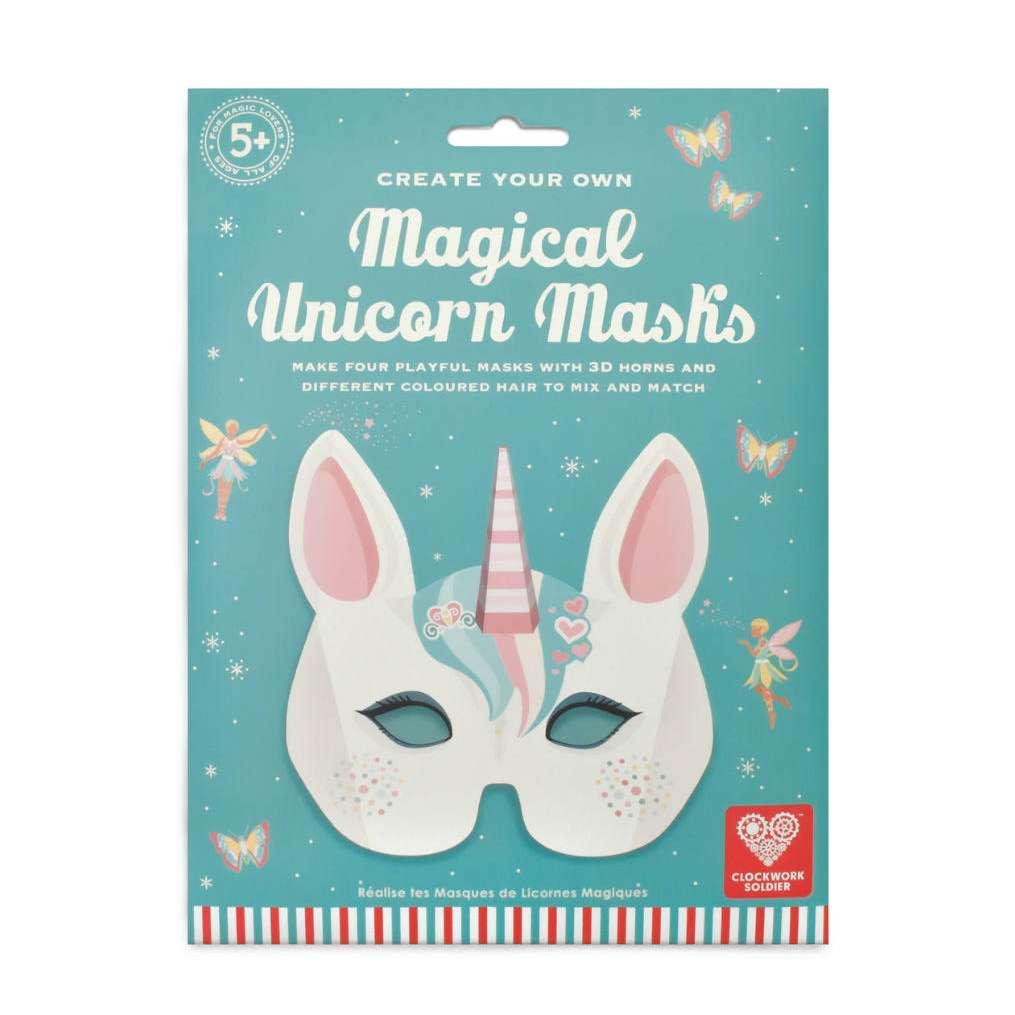 Create your own unicorn masks