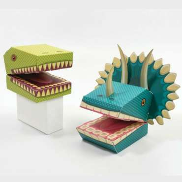 Create Your Own Dinosaur puppets Gift