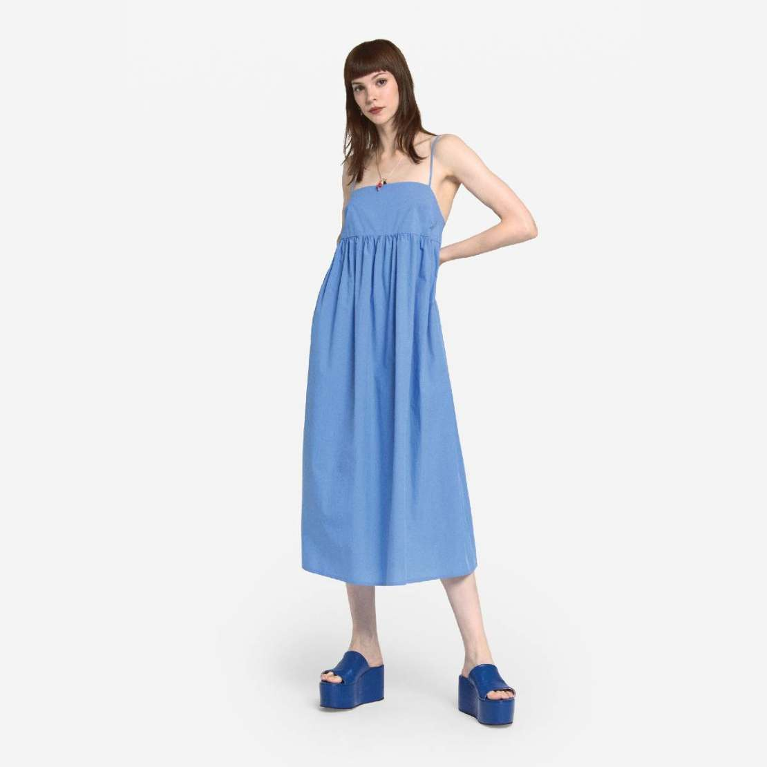 The perfect Ottod'ame Beach dress is perfect staycation wear