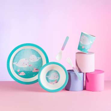 sass and belle narwhale table set for how to picnic perfectly
