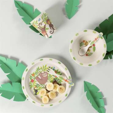 sass and belle jungle friends bamboo table set for how to picnic perfectly