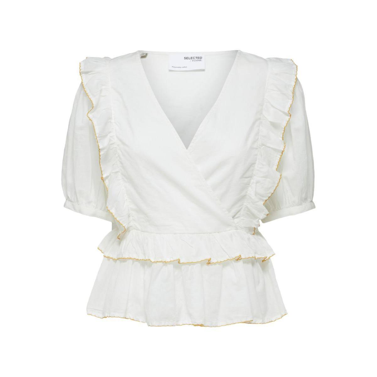 Selected Femme Frilled Shirt