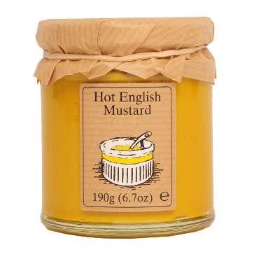 Edinburgh Preserves Hot English Mustard