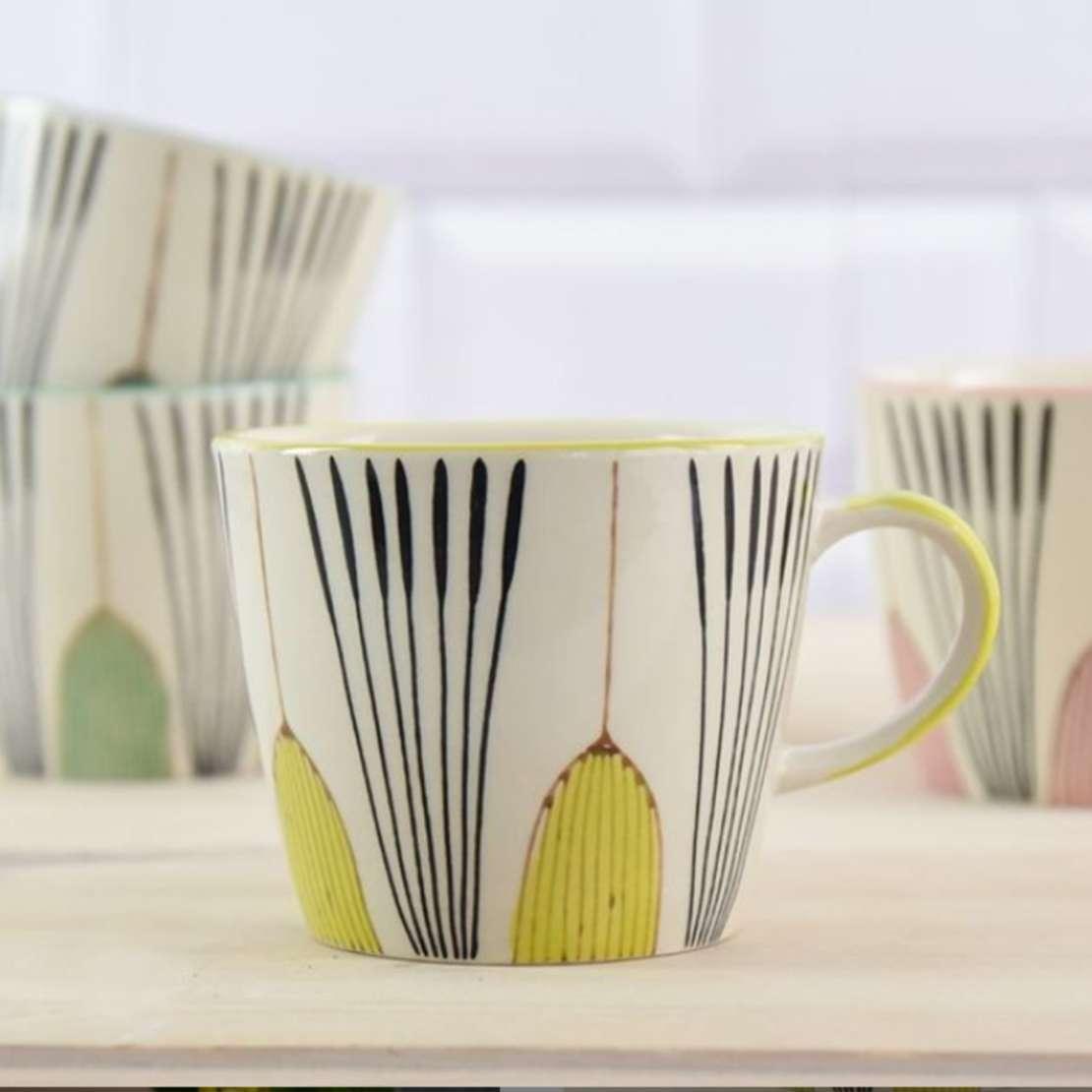 Gisela Graham deco mug new in homeware