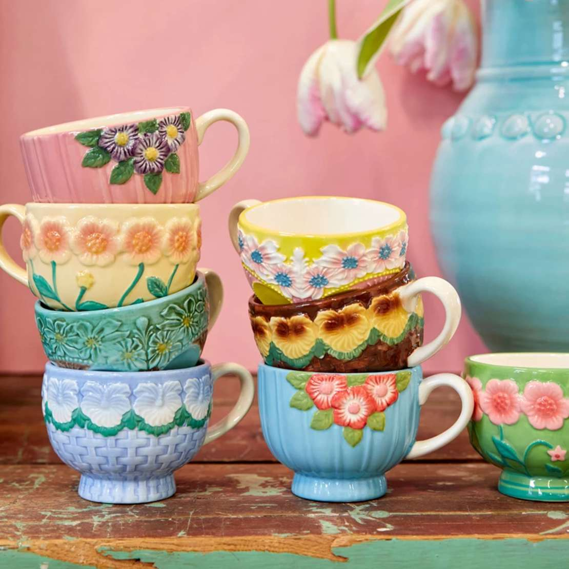 Rice Ceramic Mugs New In Homeware at Restoration Yard