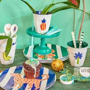 Rice Kids Circus dinnerware gift set