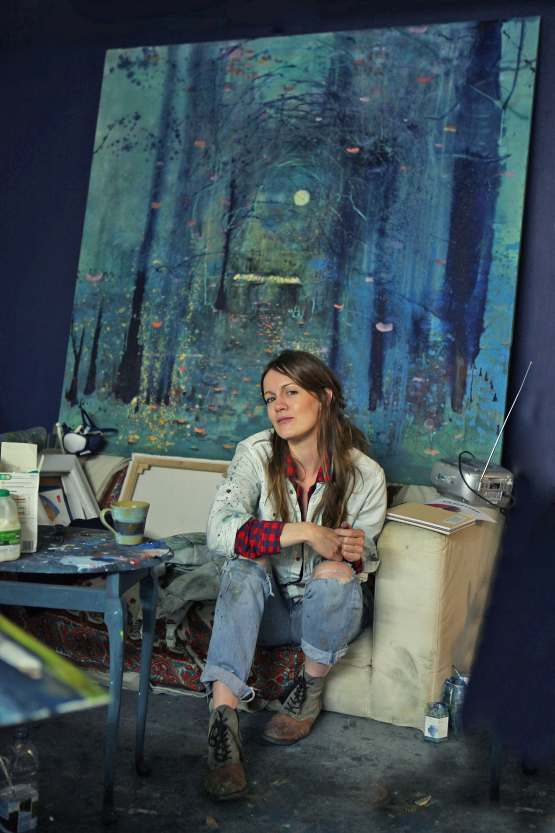 Artist Christine Clark will be showing her work at Inception