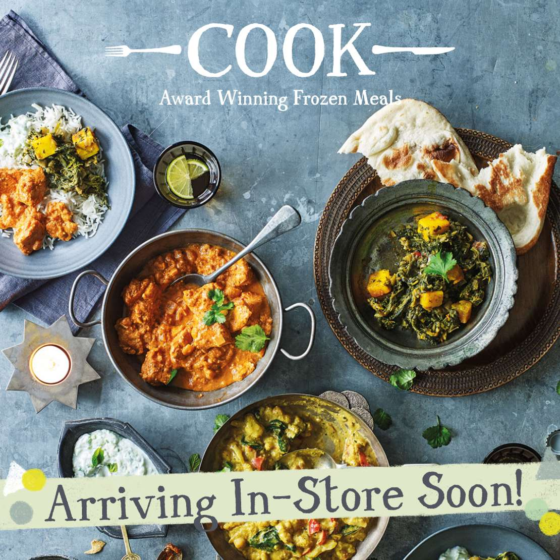 Cook arrive in THe Store at Restoration Yard