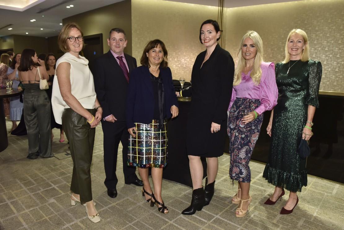 Sarah Murray of Jane Davidson at Drapers INdependent Retail Awards