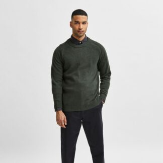 Selected Homme Lambswool Forest Night Knit