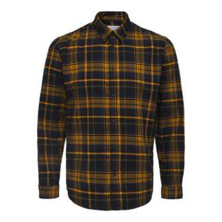 Selected Homme Slim Trent Tapenade Check Shirt